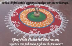 Happy Ugadi, Gudi Padwa, Cheti Chand and Chaitra Navratri! ~Know everything about these Indian festivals. ~ Njkinny's World of Books & Stuff http://bit.ly/1VEb6Yy