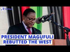 Malawi's President Lazarus Chakwera Shower Praises on John Magufuli, Says Rebutted the West - YouTube Malawi President, John Magufuli, Trust And Loyalty, Presidents, Africa, Shower, Sayings, Youtube, Rain Shower Heads