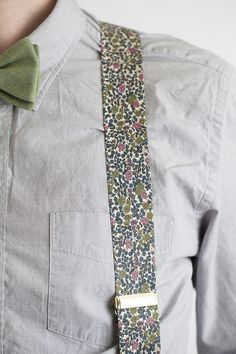 Men's Handmade Floral Liberty of London by CordialWeddings on Etsy