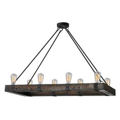 Wooden chandeliers are making a come back! Caught between rustic and industrial these wooden chandeliers will light up your rooms with style! No candles needed!