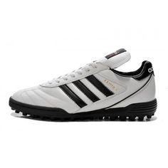 Salg Adidas Kaiser 5 TF Fodboldstøvler - Nyeste Adidas Kaiser 5 TF Hvid Fodboldstovler