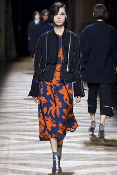 Dries Van Noten - Abstract floral