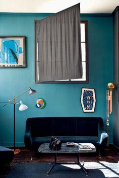 Turquoise, indigo and something about ethnic interior style – part1
