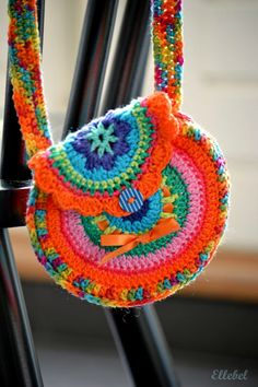 Ellebel -  no pattern...cute idea for a little girl, or a little girl at heart!