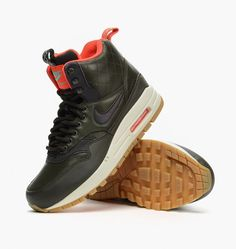 caliroots.com W Air Max 1 Mid Sneakerboot Reflect Nike 807307-300 SneakerBoots Holiday ´15 Collection! 200213