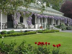 Stop at The Peppertree Luxury Accommodation to discover the wonders of Blenheim. The property features a wide range of facilities to make your stay a pleasant experience. Facilities like free Wi-Fi in all rooms, security, daily housekeeping, Pergola Patio, Backyard, Pergola Kits, Australia Hotels, Queenslander, Luxury Accommodation, Facade House, Shabby Chic Homes, Beautiful Homes