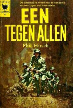 One Against All (Dutch) War Novels, Comic Books, Comics, Cover, Dutch, Movie Posters, Dutch Language, Film Poster, Cartoons