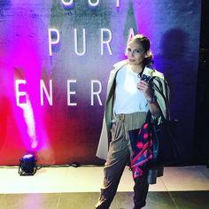 """#Repost @chicasennewyork with @repostapp.  Tenemos un par de zapatillas para ustedes!! A lu ci nantes!! Las primeras zapas de running para chicas!  """" #SoyPuraEnergia """" dice la frase en la pared del evento de lanzamiento de las nuevas zapas de running #PureBoostX  Y nada que me haga sentir mas identificada!!...Seguilo todo en Snapchat yaaa!! de Chicas en NY  y entre las seguidorasde snapchat sorteamos un par!!! Son divinas!!!!   @adidasar"""