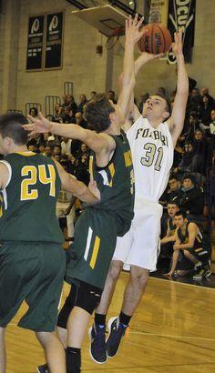 H.S. BOYS' BASKETBALL: Foxboro defense too tough for King Philip