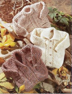 Childrens chunky cardigans/jackets and jumper  22 to by Hobohooks