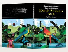 Image of The Curious Explorers Illustrated Guide to Exotic Animals A-Z