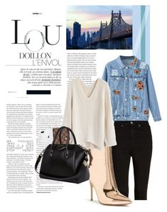 """""""Laid Back Lou"""" by twinklepink ❤ liked on Polyvore featuring Viktor & Rolf, Good American, Forever 21, Chicwish, Louis Vuitton and Givenchy"""