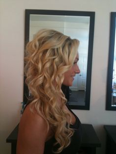 so lucky to have casey do my wedding hair in 4 months!! www.caseydoeshair.com
