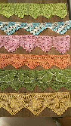 Hand crocheted border, fillet crochet lace trim, linear or turning edge for home decor, wide lace border, cream fine crochet handmade edging Filet Crochet, Crochet Borders, Crochet Cross, Crochet Blanket Patterns, Baby Blanket Crochet, Hand Crochet, Crochet Lace, Knitting Patterns, Lace Border