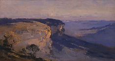 australian federation landscapes/our country music - Yahoo Image Search Results Great Paintings, Oil Paintings, Painting Art, Australian Painting, Australian Artists, Landscape Art, Landscape Paintings, Painting Inspiration, Country Music