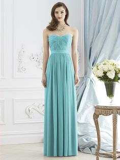 Dessy Collection Style 2943 http://www.dessy.com/dresses/bridesmaid/2943/ | seafoam wedding | limpet shell 2016 | www.endorajewellery.etsy.com