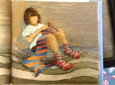 Sarah Swett 5- I love this. And her Three of Spinsters is the tapestry I would most love to buy.