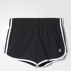 adidas M10 3-Stripes Shorts - Black | adidas UK ($33) ❤ liked on Polyvore featuring shorts, adidas, adidas shorts, stripe shorts and striped shorts
