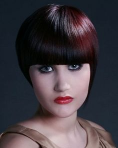 Voguish Short Round Crop Hair Style 2014