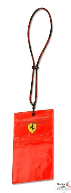 Etui Ferrari ticket holder | FERRARI ACCESSORIES | Fbutik | Scuderia Ferrari Collection