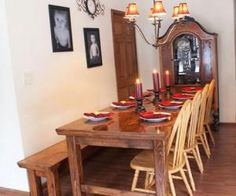 The hubby is gonna make this Farmhouse table for our dinning room.....so excited. Table cost around $75-$100 to DIY!