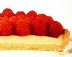 Raspberry Lemon tart -- Anna Olsen from Sugar