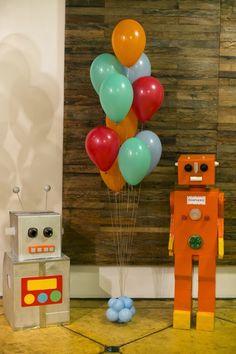 Bella Fiore Decoração de Eventos: Festa Robô