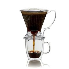 Clear Clever Coffee Dripper in Pour Over Coffee Makers | Crate and Barrel