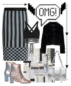 """""""OMG!!!!"""" by mdfletch on Polyvore featuring House of Holland, Anya Hindmarch, Puma, Boohoo, Proenza Schouler, Camilla Elphick and omg"""