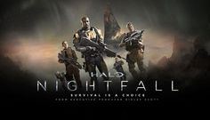Halo: Nightfall official promo poster