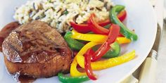 Stubb's Grilled Beef Steaks with Espresso-Bourbon Sauce