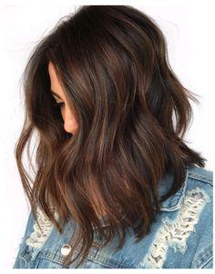 Rich Brown Hair, Medium Brown Hair Color, Brown Hair Colors, Black Brown Hair, Ash Brown, Brown Hair For Cool Skin Tones, Brown Hair Long Bob, Brown Highlights On Black Hair, Hair Color Ideas For Black Hair