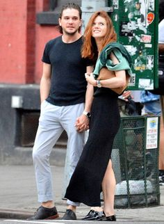 Real-Life Game of Thrones Couple Kit Harington and Rose Leslie Enjoy a N.Y.C. Date