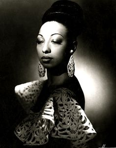 Josephine Baker, c1950 (Studio Harcourt)…    ♥ ♥ ♥