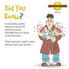 How do you cope with sleep depriviation? Share in the comments below. 1st Night, New Parents, First Year, Baby Care, Did You Know, New Baby Products, Haha, Parenting, Sleep