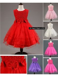 Vestito Cerimonia Feste Natale CDR017