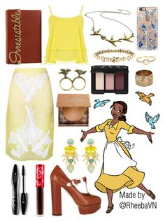 """""""Tiana 4"""" by rheebavn ❤ liked on Polyvore featuring Charlotte Olympia, Christopher Kane, WearAll, Lime Crime, Elizabeth Cole, Urban Decay, Lancôme, Emi Jewellery, NARS Cosmetics and Chanel"""