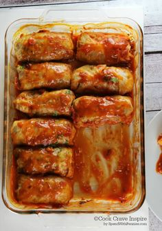 Easy Cabbage Rolls!