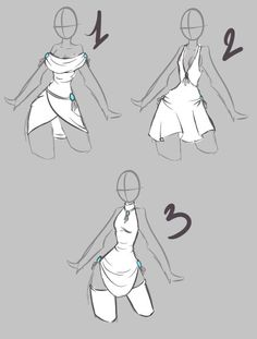 62 Ideas For Fashion Drawing Poses Deviantart Dress Drawing, Drawing Clothes, How To Draw Clothes, Manga Clothes, Drawing Reference Poses, Design Reference, Drawing Sketches, Art Drawings, Drawing Tips
