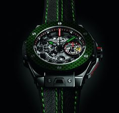 Hublot Big Bang Ferrari Tourbillon Mexico  What is the first word that comes to mind when seeing this watch?  ____________________________  #Hublot #horology #watchaddict #timepiece #wristwach #zeitwerk #luxury #luxurywatch #menstyle #watchfam #watch #Ferrari #tourbillon