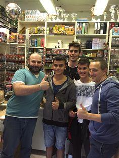 Settembre 2015: Boss&Sca con Alessandro, Luigi & Lorenzo da Lamezia Terme