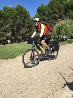 Cycling to Estella... Go, go,...