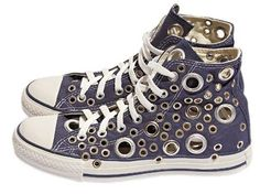 It doesn't matter how old, dirty or hole-y your Chuck Taylors are. You can fix them right up like new designer shoes in no time.