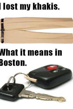 Boston accent
