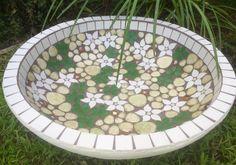 A personal favourite from my Etsy shop https://www.etsy.com/au/listing/453241356/bird-bath-birdbath-mosaic-bird-bath-bowl