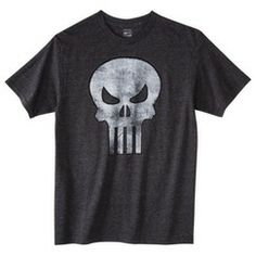 The Punisher Men's Graphic Tee - Charcoal