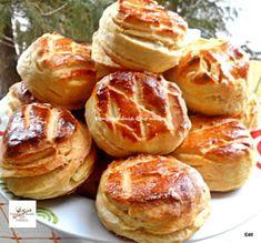 Fincsi receptek: Burgonyás pogácsa Hungarian Recipes, Pretzel Bites, Baked Potato, Bakery, Recipies, Muffin, Sweets, Snacks, Cookies