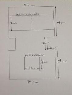 Resultado de imagem para tutorial de bolsa para notebook