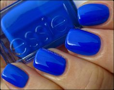 """Essie's """"Bouncer, It's Me"""" from the neon 2013 collection."""