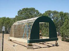 Hog Hooch (Cattle Panel Hoop House)